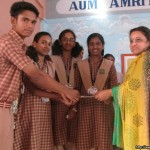 Amrita Vidyalayam, Palakkad bags First Prize for the best report of the Children's Day Programme.